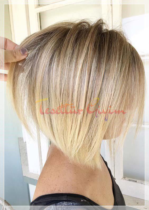 Kısa Saç Ombre Modelleri