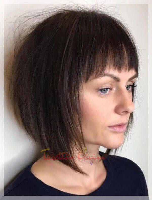 kahküllü marjinal saç kesimi