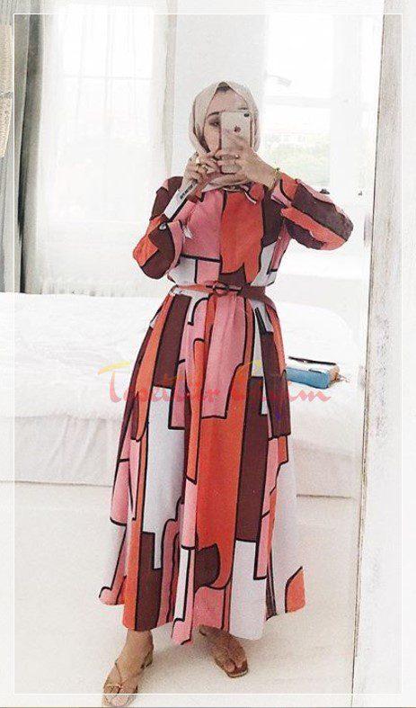 Merve Hifa Uzun Elbise