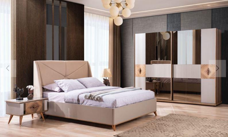 Miranda Modern Düğün Paketi yatak odası