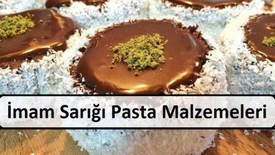 İmam Sarığı Pasta Malzemeleri