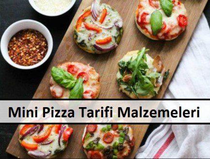 Mini Pizza Tarifi Malzemeleri