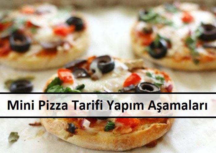 Mini Pizza Tarifi Yapım Aşamaları