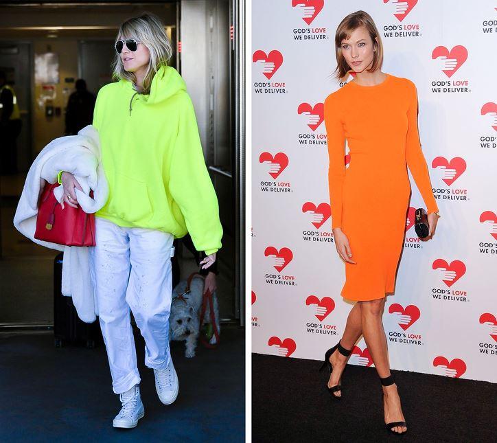 Asit Renkli Giysi Modası