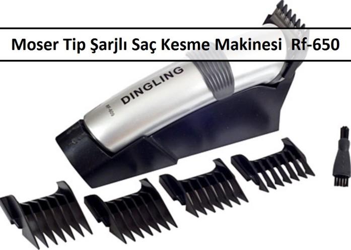 Moser Tip Saç Kesme Makinesi Şarjlı Tıraş Makinesi Rf-650