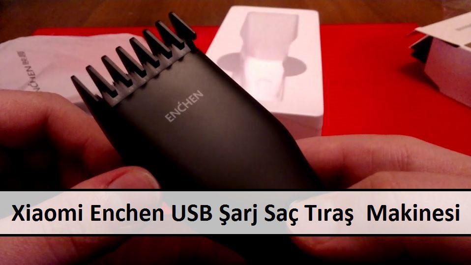 Xiaomi Enchen USB Şarj Saç Tıraş Makinesi
