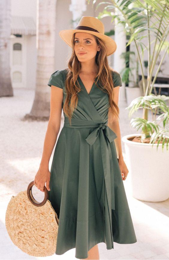 yazlık günlük elbise model