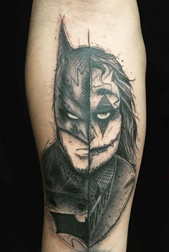 Batman Joker Dövmeleri