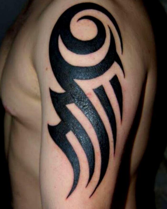 Geçici Tribal Dövme Modelleri