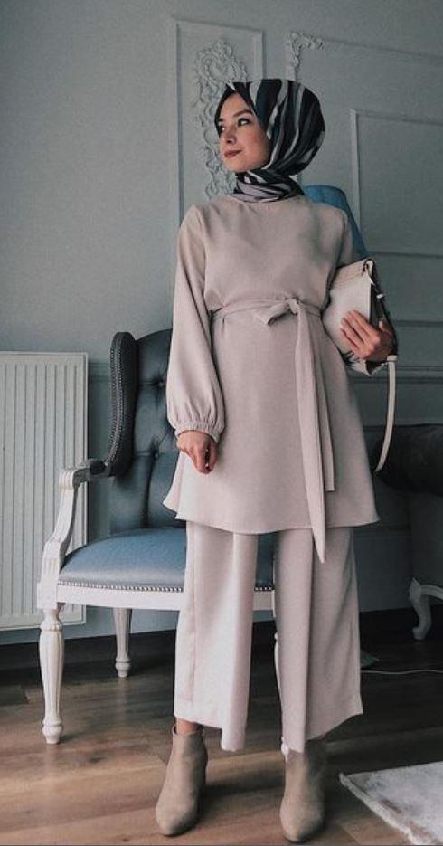 Tesettür Mezuniyet Elbise Modelleri