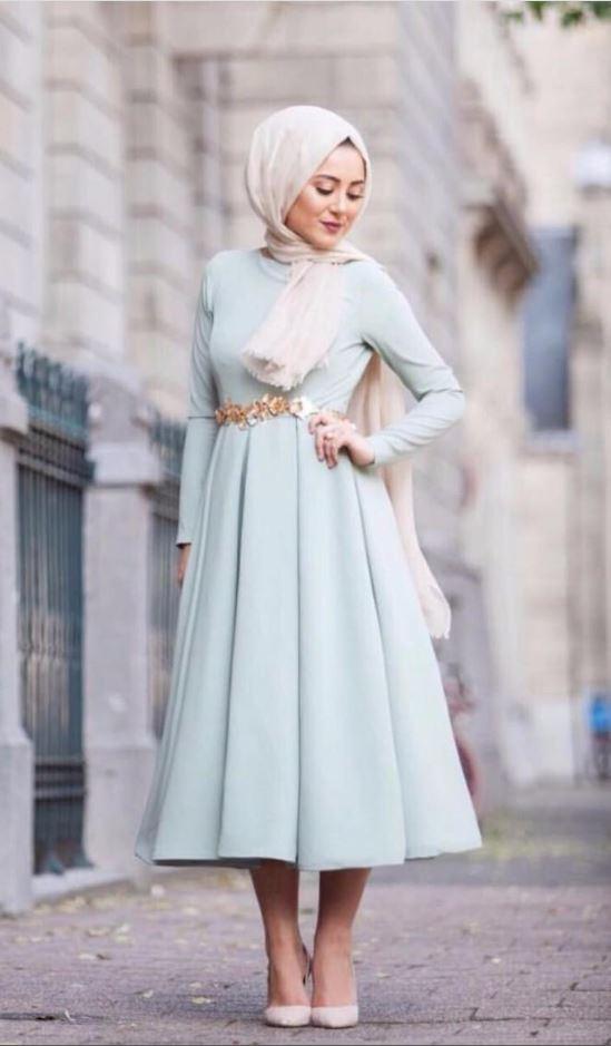 Tesettür Mezuniyet Elbise