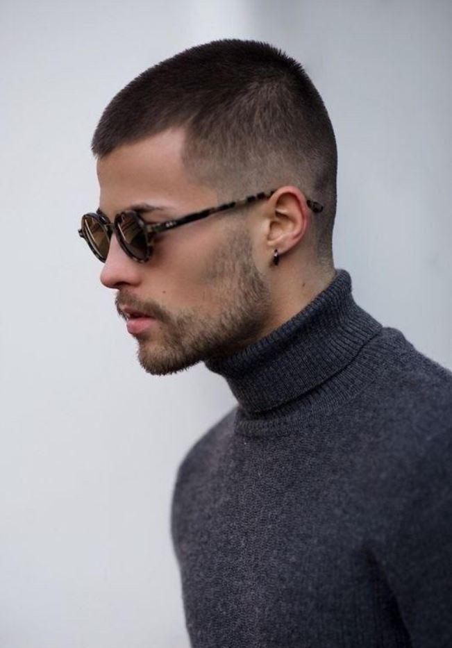 3 Numara Kısa Erkek Saç Modelleri