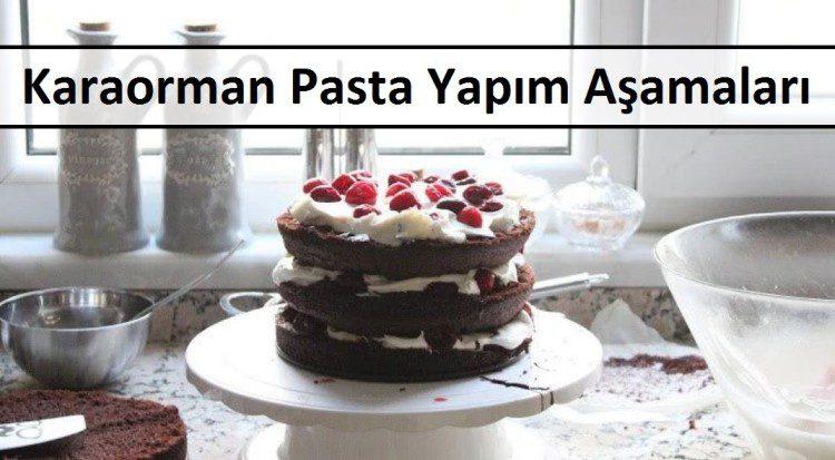 Karaorman Pasta Yapım Aşamaları