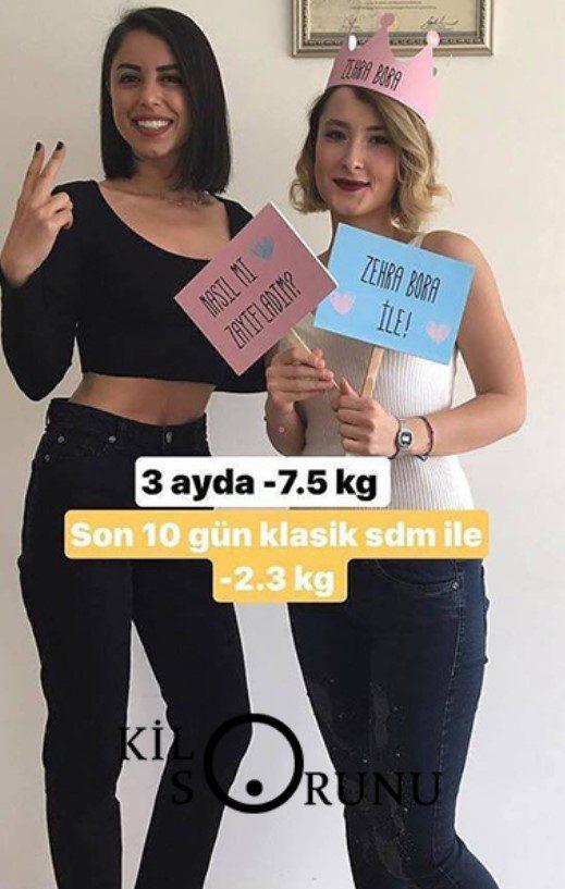 sdm diyeti ile kilo verme