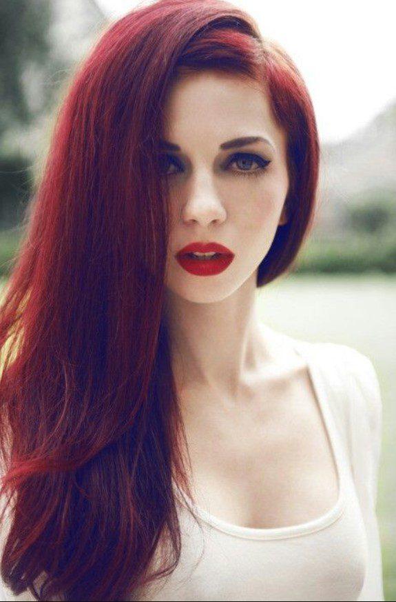 Aşk Alevi Rengi Saç