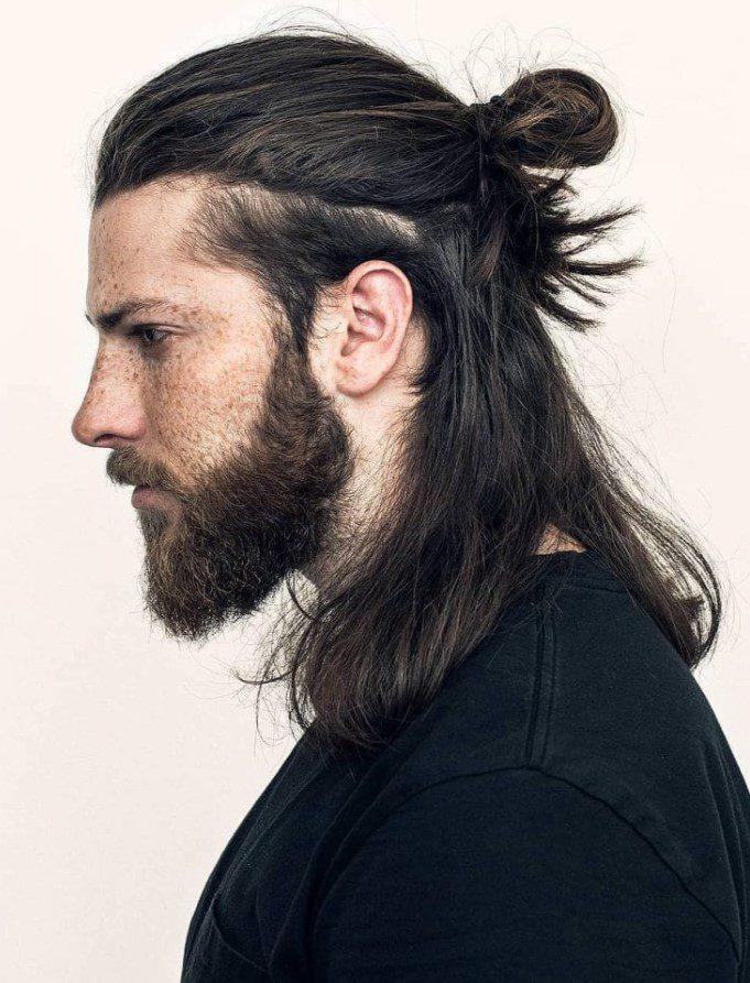 Çağlar Söyünü Uzun Saç Modeli