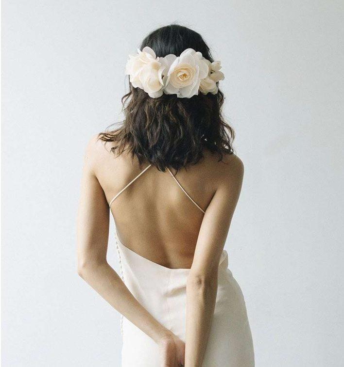 Çiçek Jennifer Behr Saç Aksesuarı