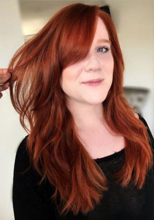 Doğal Aşk Alevi Saç Rengi