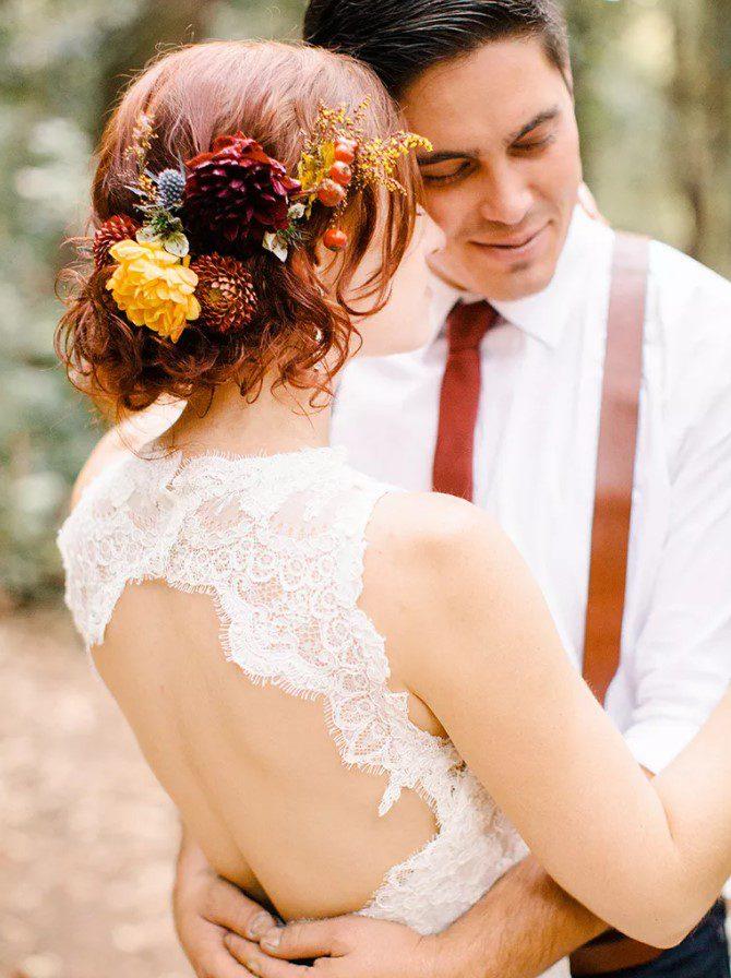 Kır Düğünü Canlı Çiçek