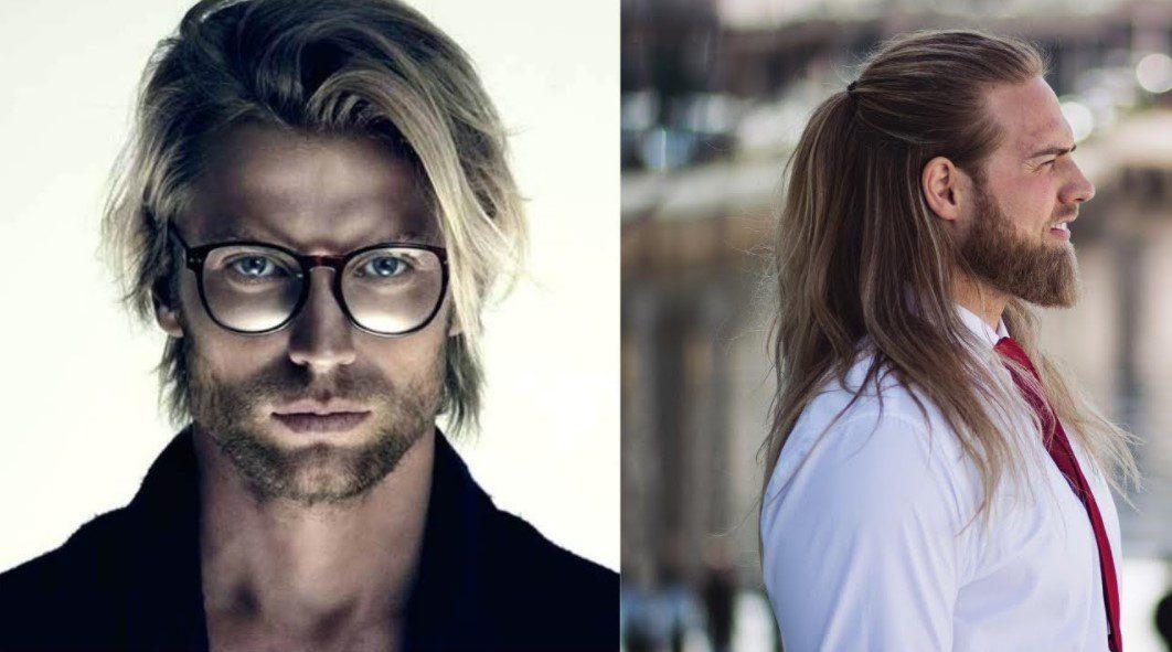 Uzun Düz Saçlı Erkeklere Tavsiye