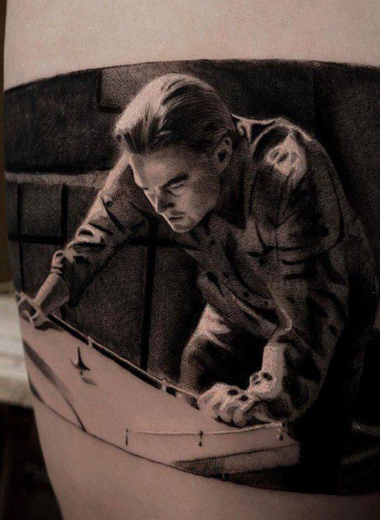 Leonardo Dicaprio Dövme Modeli