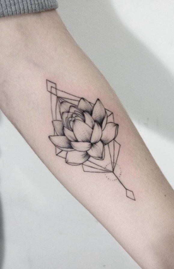 Minimal Lotus Çiçeği Modeli