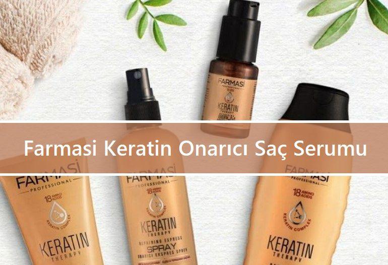 Farmasi Keratin Onarıcı Saç Serumu Ve Şampuanı