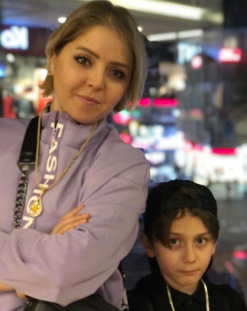 Kuzey Yanık ve annesi