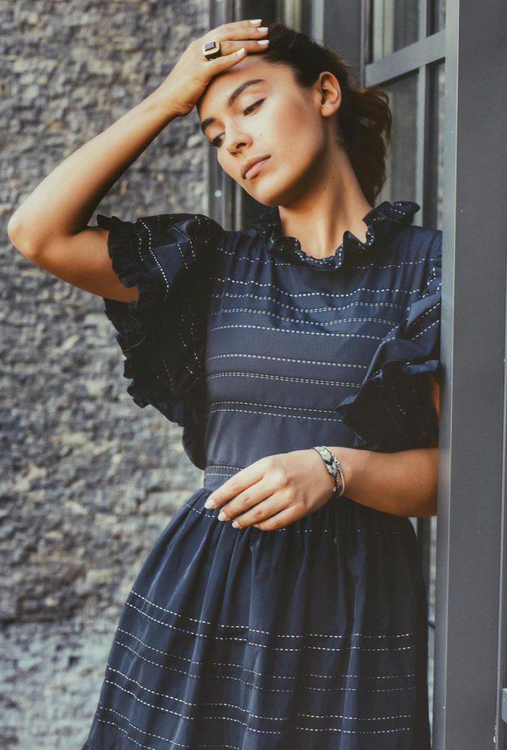 Biran Damla Yılmaz Elbise Modeli