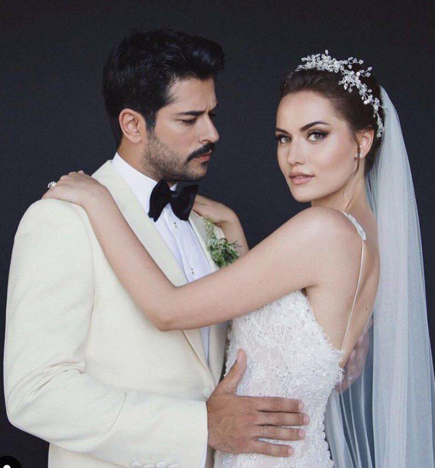 Fahriye Evcen Burak Özçivit Düğün Fotoğrafı
