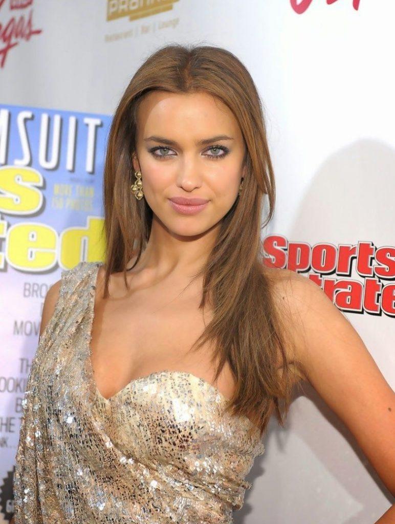 Irina Shayk Açık Renk Fındık Kabuğu Rengi