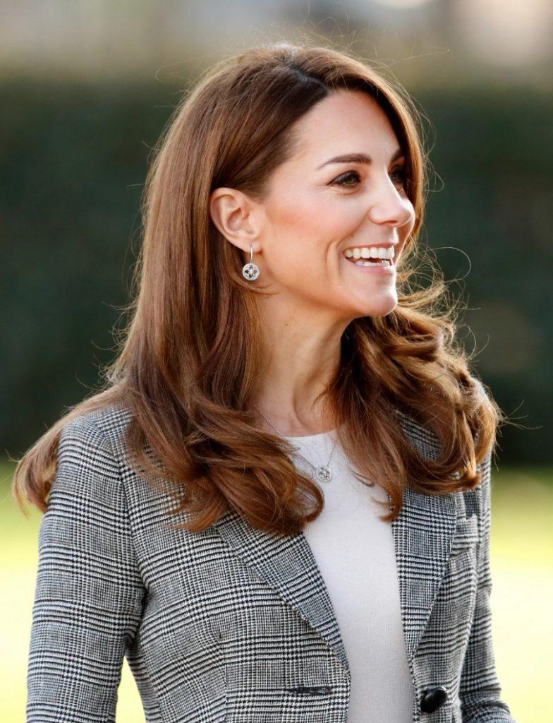 Kate Middleton Fındık Kabuğu Saç Rengi