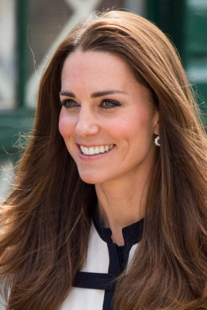 Kate Middleton Fındık Kabuğu Saç Renk Tonu