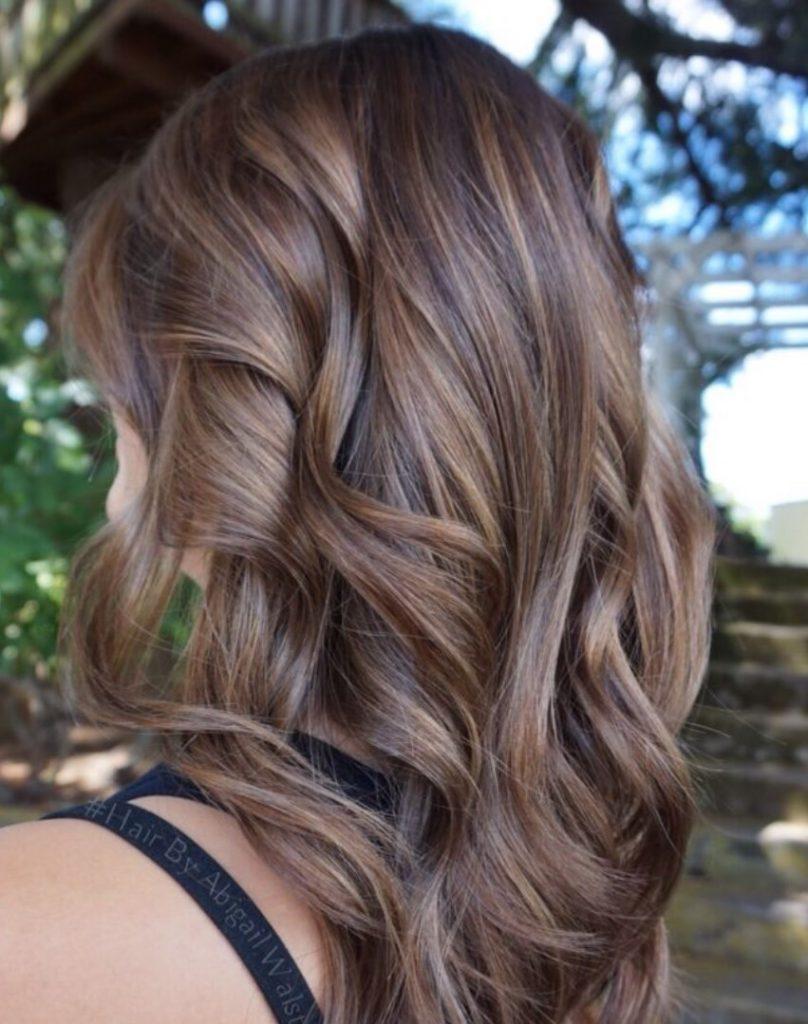 Röfleli Fındık Kabuğu Saç