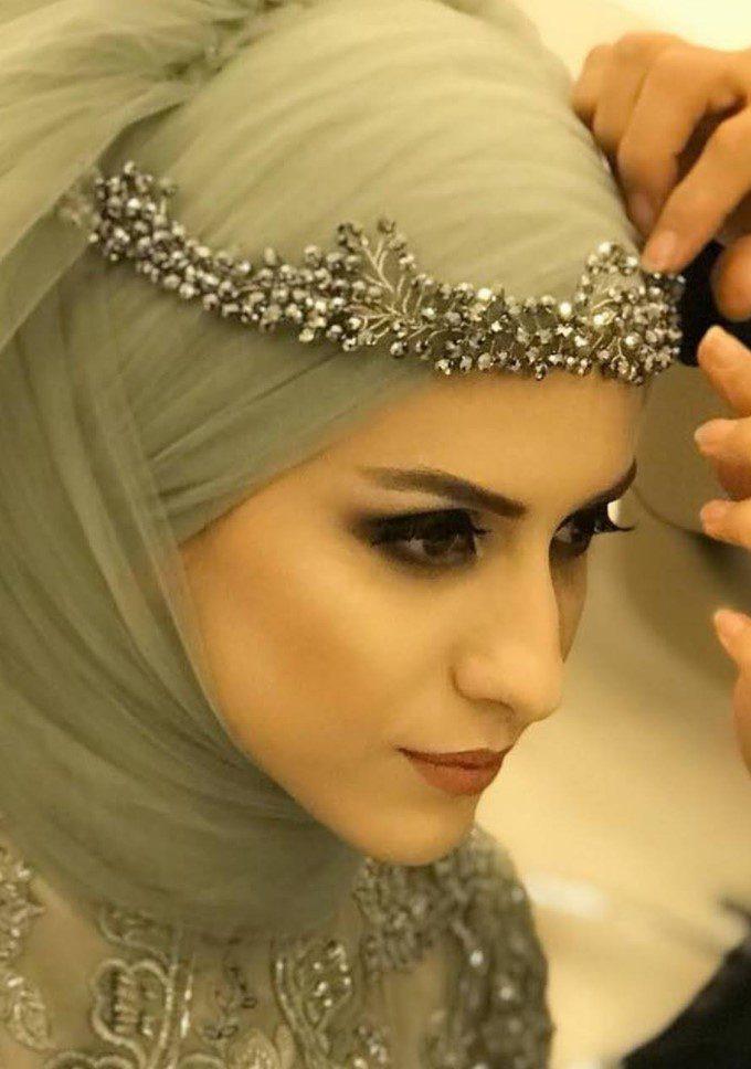 Tesettür Nişanlık Makyaj Modeli