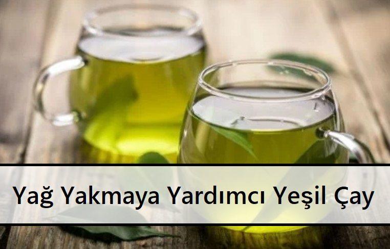 Yağ Yakmaya Yardımcı Yeşil Çay