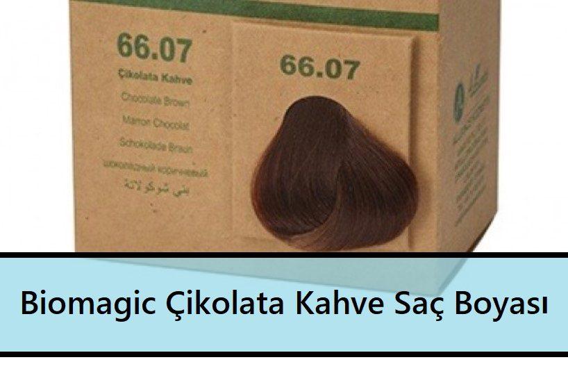 Biomagic Çikolata Kahve Saç Boyası