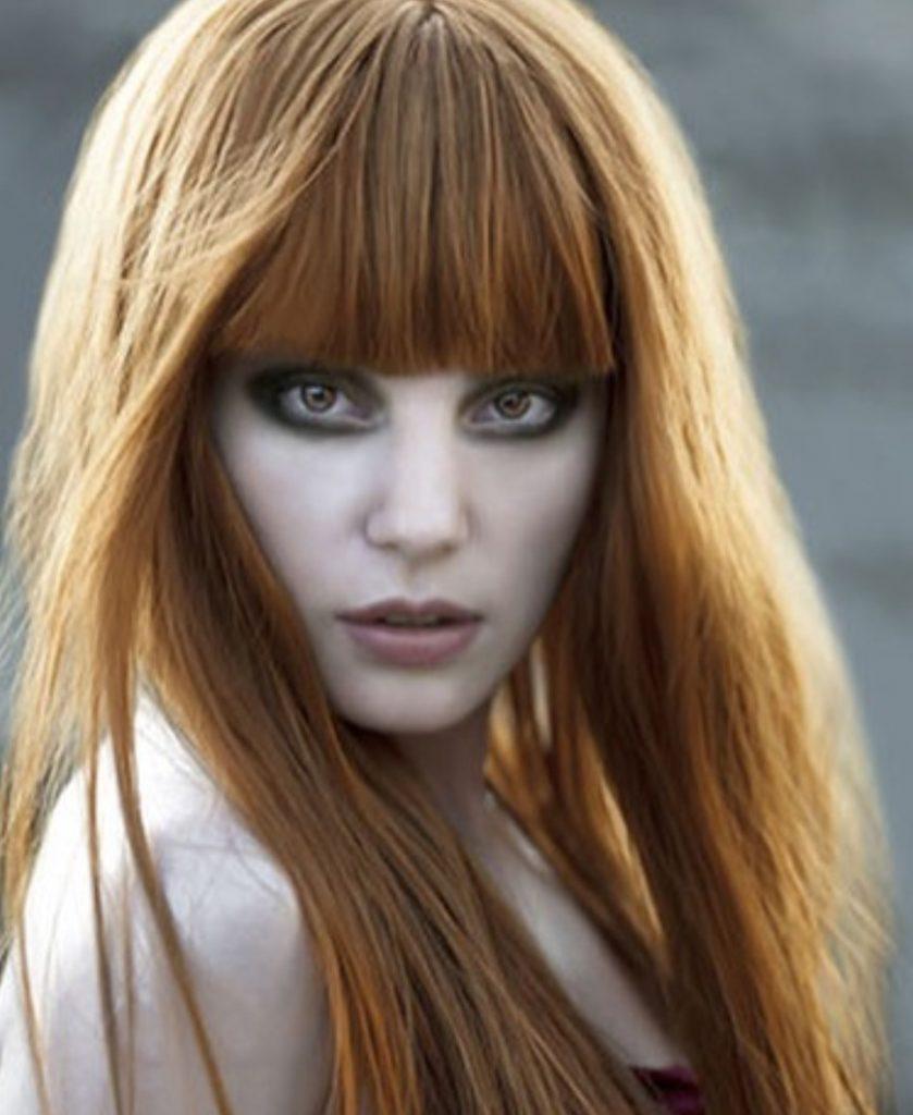 Meyra Kızıl Kahküllü Saç Modeli