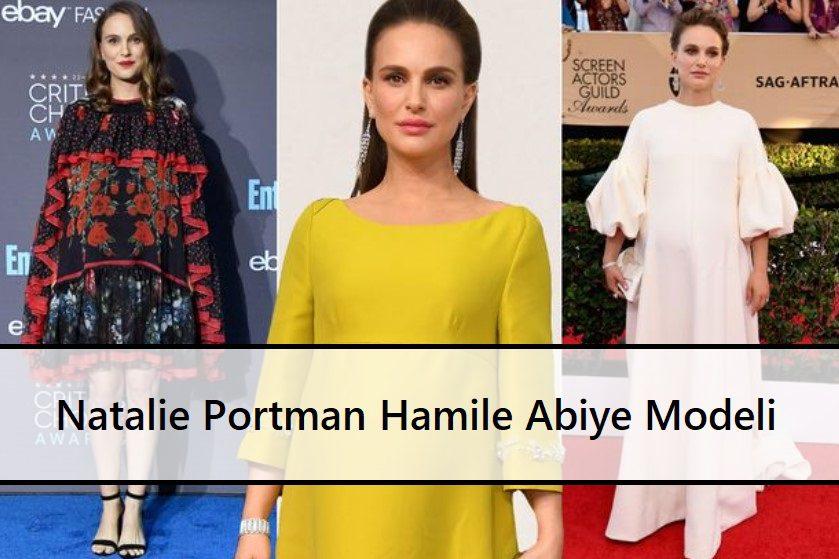 Natalie Portman Hamile Abiye Modeli