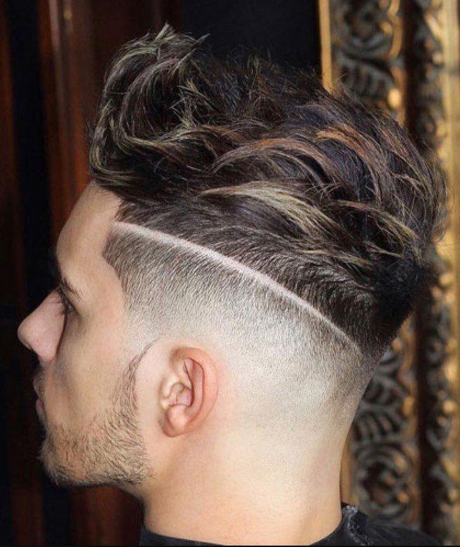 Yan Tarafı Kısa Üst tarafı uzun saç modeli
