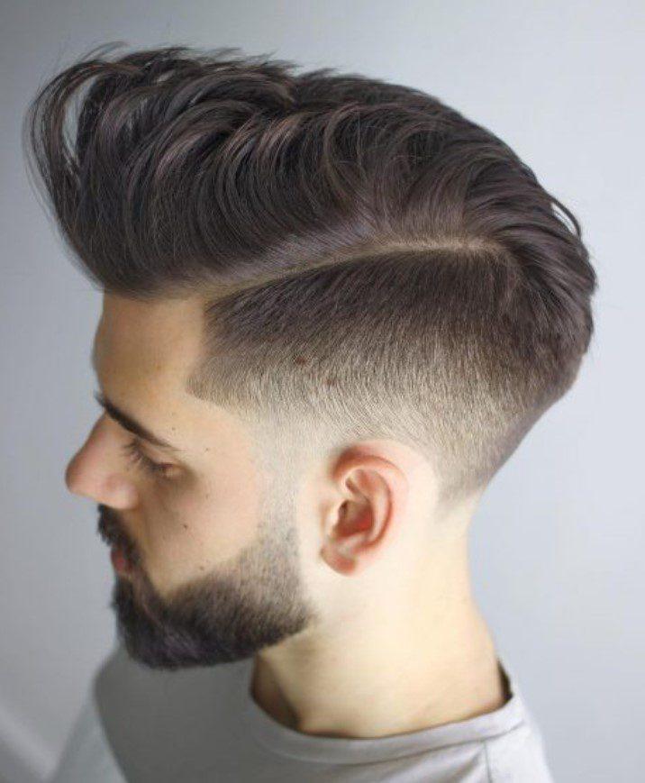 Yanlar Kısa Üstler Uzun Erkek Saçı