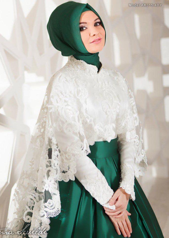 Fatma Sevildi Yeşil Nişanlık Abiye