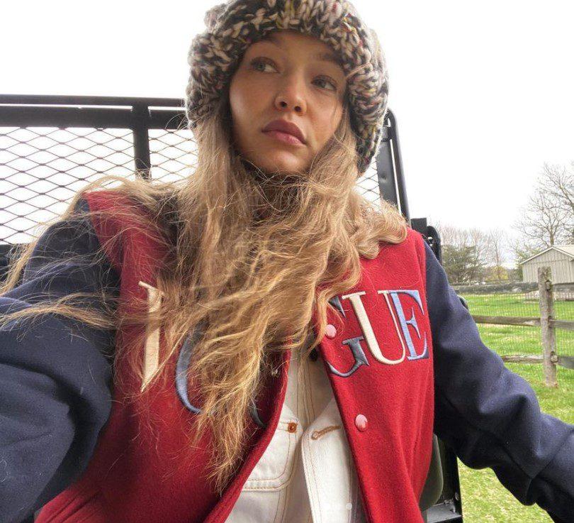 Gigi Hadid Doğal Saçları