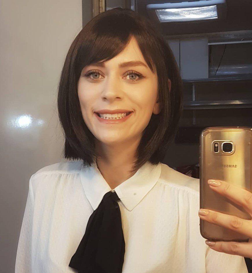 Hazal Türesen Siyah Matilda Saçı