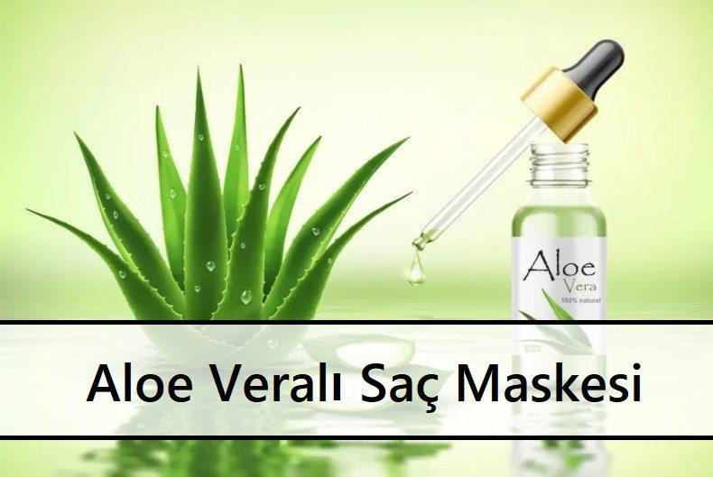 Aloe Veralı Saç Maskesi