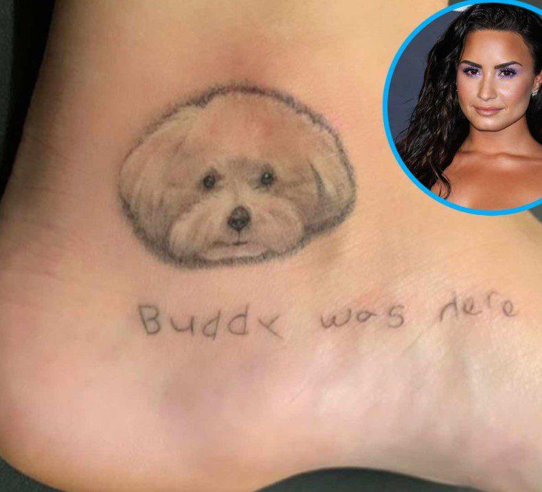 Ariana grande'nin evcil hayvan dövmesi