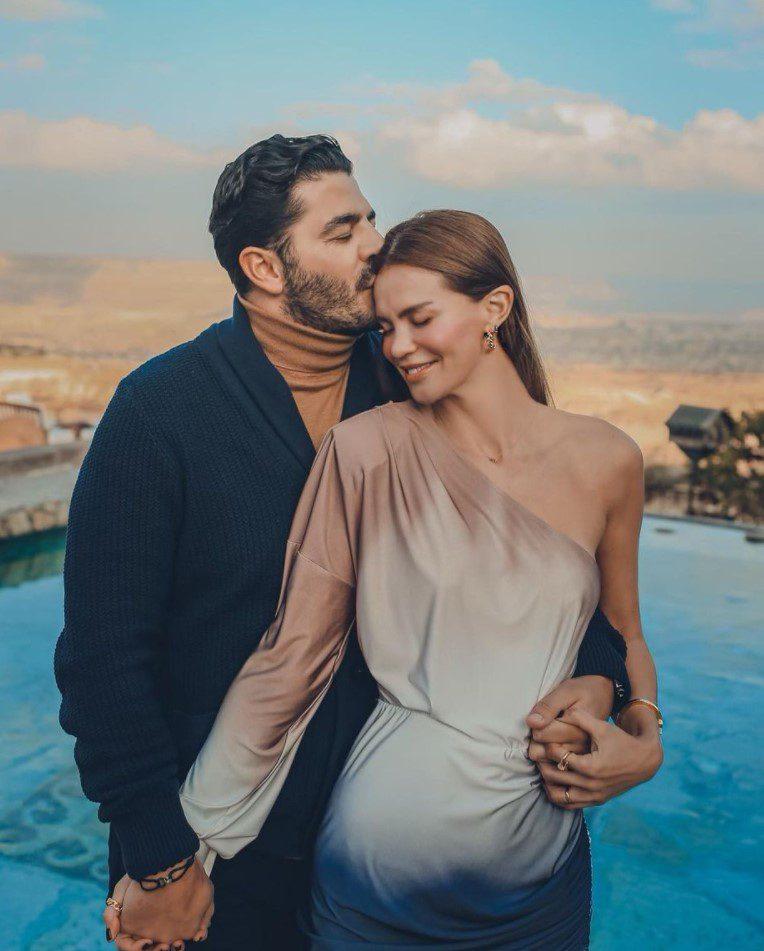Ebru Şallı ve Kocası