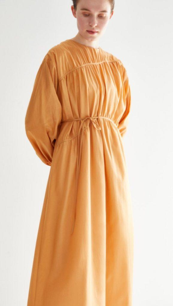 Kevser Sarıoğlu Bağlamalı Astarlı Tesettür Elbise