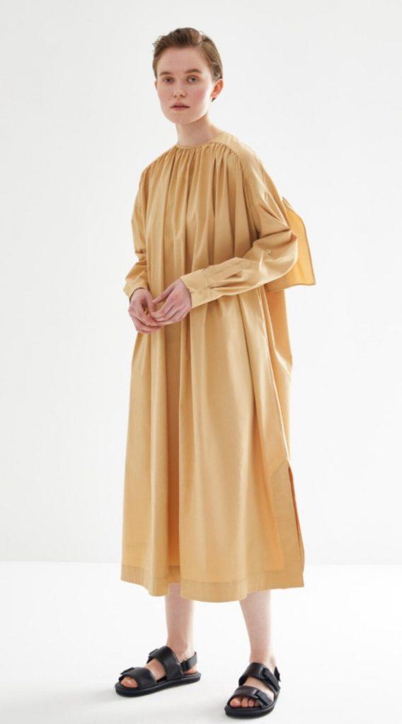 Kevser Sarıoğlu Fermuarı Büzgülü Tunik Modeli