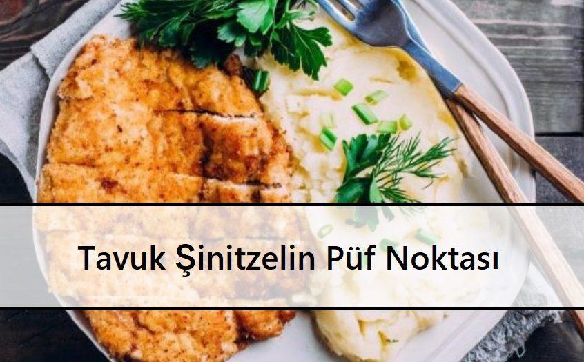 Tavuk Şinitzelin Püf Noktası